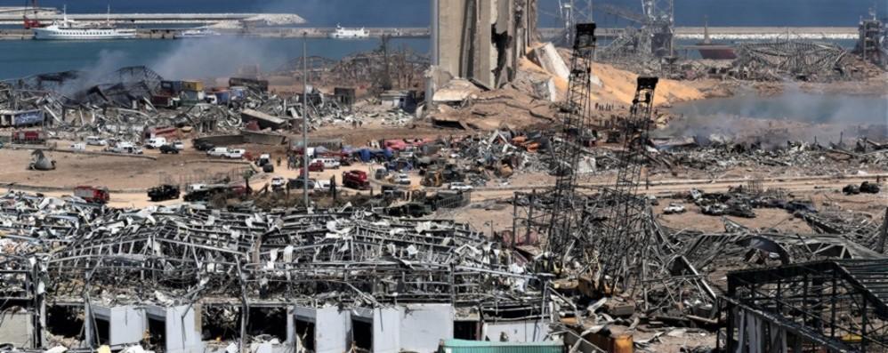 Libano macerie che fanno male