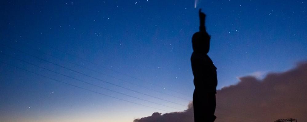 Lo spettacolo della cometa sulle Orobie Neowise, ecco come e dove avvistarla