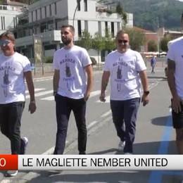 Nembro, iniziativa benefica con le magliette Nember United