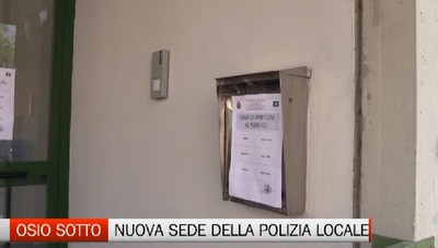 Osio Sotto: parte la nuova sede della Polizia Locale. Aumentano i controlli notturni