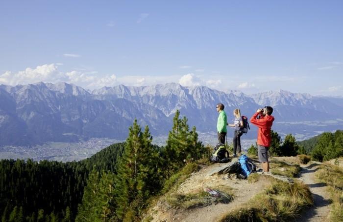 Innsbruck Trek, escursione a lunga percorrenza Credit: Innsbruck Tourismus/ Christian Vorhofer