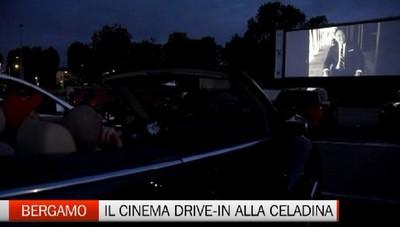 Tutto esaurito per il cinema drive-in alla Celadina