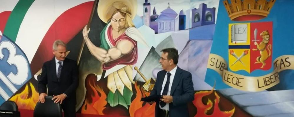 A Bergamo all'Anticrimine per otto anni Ora Sergio Vollono vice questore a Lecco