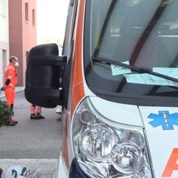 Auto contro moto a Torre Boldone Code sulla provinciale della valle Seriana