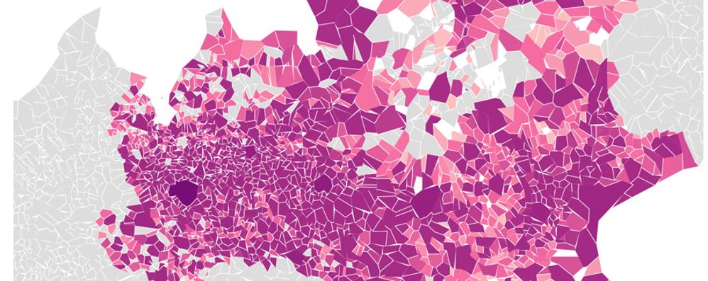 Coronavirus, le mappe dei Comuni italiani nel segno della trasparenza - Infografiche