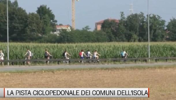 Il progetto della pista ciclopedonale dell'Isola Bergamasca