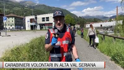 Ponte Nossa, l'attività di volontariato dei carabinieri in congedo