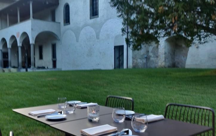 Riparte l'estate del monastero di Astino  E la ristorazione rimarrà tutto l'anno