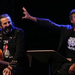 Boni: «C'è voglia di respirare di nuovo»-Video Con Pedrini inaugura Lazzaretto on stage