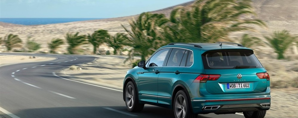 Volkswagen Tiguan è anche ibrida