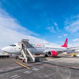 Albastar vola da Orio al Serio Collegamenti per il Sud e la Sardegna