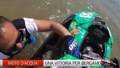 Moto d'acqua: Michele Cadei vince e dedica la vittoria a Bergamo ferita dal coronavirus