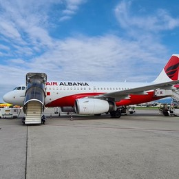 Nuovo collegamento con Tirana Air Albania vola da Orio al Serio