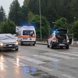 Ragazza di 29 anni investita a Clusone Arriva l'elisoccorso, è grave -Foto
