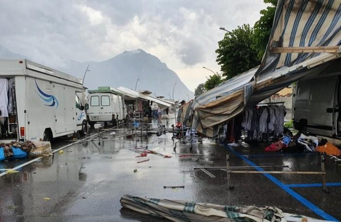 Il mercato del sabato a Lovere