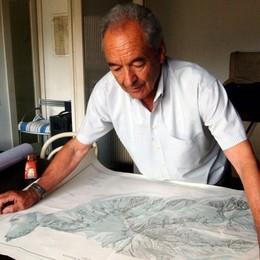 Addio Bertocchi, il cartografo «prestato» alla cronaca