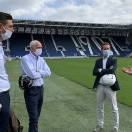 Atalanta, lo stadio è ok per la Champions Percassi: «Un altro sogno che si realizza»