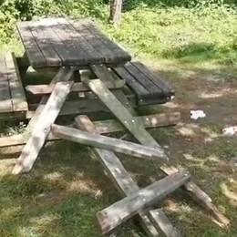 Atti vandalici nel parco del Serio, scoperti Ora i ragazzini dovranno ripulire l'area