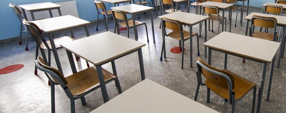 Banchi monoposto per le scuole La consegna parte da Alzano e Nembro