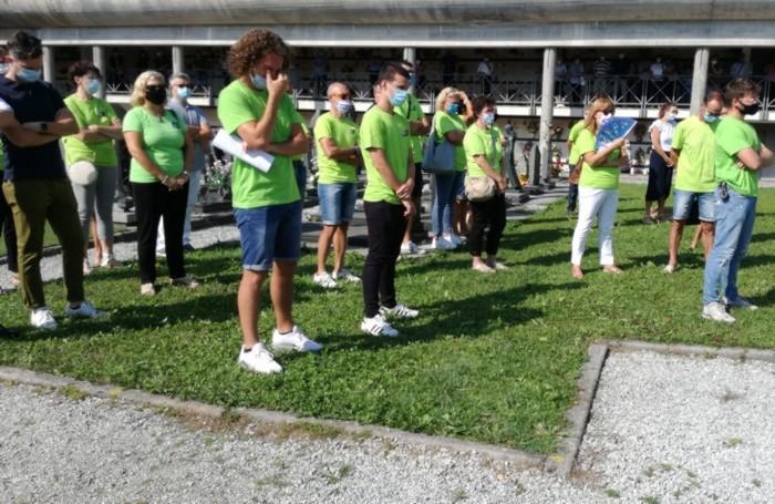 I volontari dell'oratorio di Casnigo