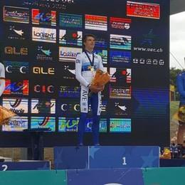 Europei 2020, bene il ciclismo orobico  Milesi è bronzo, oro per Vacek