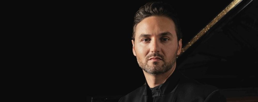 Festival Pianistico, cambio di programma Giuseppe Albanese sostituisce Bacchetti