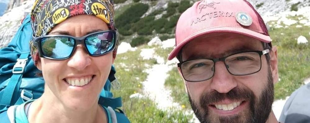Patrizia e Michele si sposano in quota «La Presolana, cattedrale naturale»