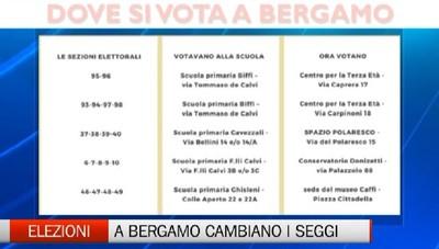 Rivoluzione dei seggi a Bergamo. La metà degli elettori è stata dirottata su altre sedi
