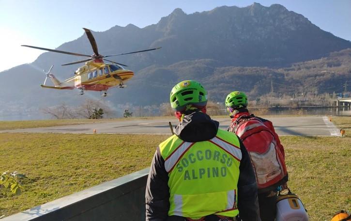 Tragica caduta con la moto da trial Muore 46enne della provincia di Lecco