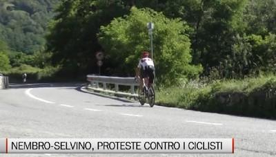 Strada Nembro-Selvino, proteste contro i ciclisti