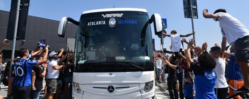 Atalanta, ora la squadra in vacanza Ritiro da decidere, in campo a settembre