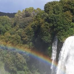 C'è anche l'arcobaleno