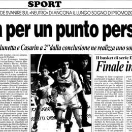 Celana, nel '97 per un punto sfumò l'A2 «A  Lisbona rivissuta quella delusione»