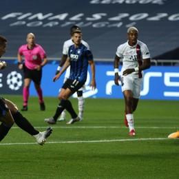 Grazie Atalanta, il sogno è bello anche così Il Psg passa con due gol negli ultimi tre minuti