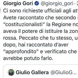 Mancata zona rossa Nembro e Alzano Scambio accuse Gori-Gallera via twitter
