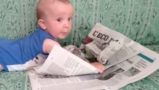 «Nuove generazioni che leggono L'Eco...»