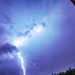 Super temporale a Bergamo Variabile fino martedì, poi torna il sole