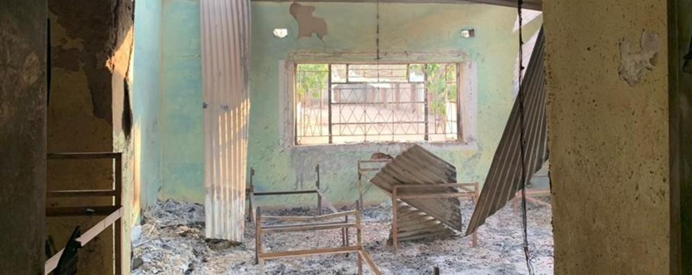 Un altro incendio in Malawi Brucia casa famiglia, bimbi salvi