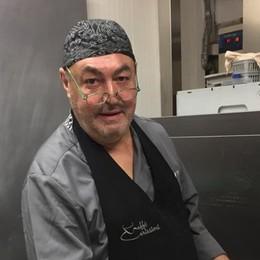 Addio allo chef Giorgio Speroni  Da 15 anni all'Osteria di Valenti