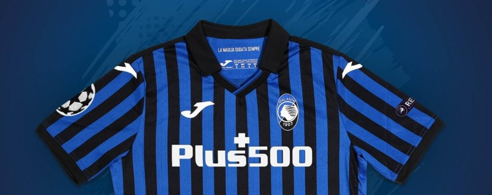 Atalanta, ecco la maglia per la Champions C'è la scritta Bergamo: omaggio alla città