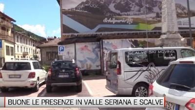 Buone le presenze nel comprensorio Seriano e Scalvino