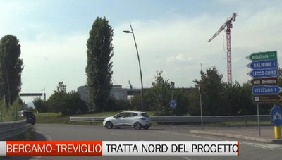Ecco come sarà la Bergamo Treviglio: Siamo andati a vedere sul posto il primo tratto del progetto