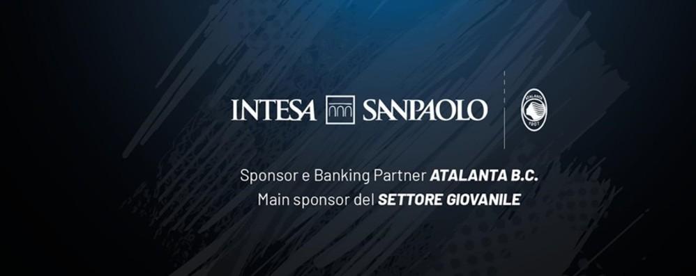Intesa Sanpaolo sponsor dell'Atalanta Ex tribuna Ubi si chiamerà «Rinascimento»