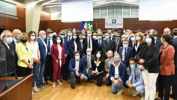 Alpini, istituita la Giornata regionale Sarà il 2 aprile: ricordo dell'ospedale Covid