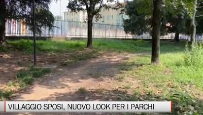 Bergamo - Nuovo look per giardini e parchi del «Villaggio»