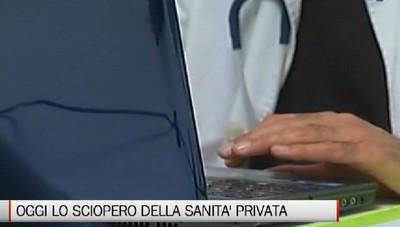 Bergamo - Sciopero della Sanità privata