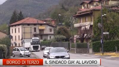Borgo di Terzo: nei progetti del comune l'allargamento della statale 42
