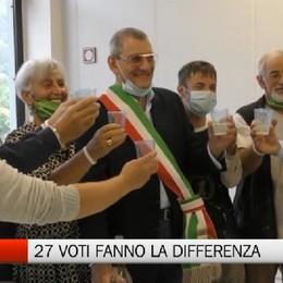 Cene, vince Edilio Moreni con 27 voti di differenza