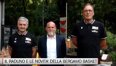 Il raduno della Bergamo Basket 2014