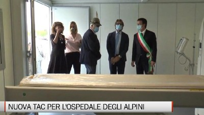Nuova Tac mobile donata all''Ospedale da campo degli Alpini